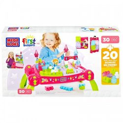 Mega Bloks First Builders Princess Fairy Table For Kids A