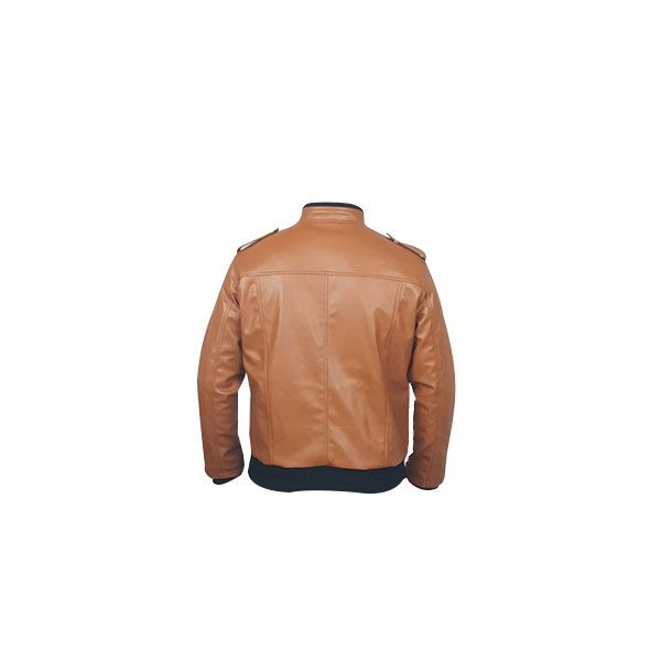 Men Slim Fit PU Leather Jacket B666 3 B