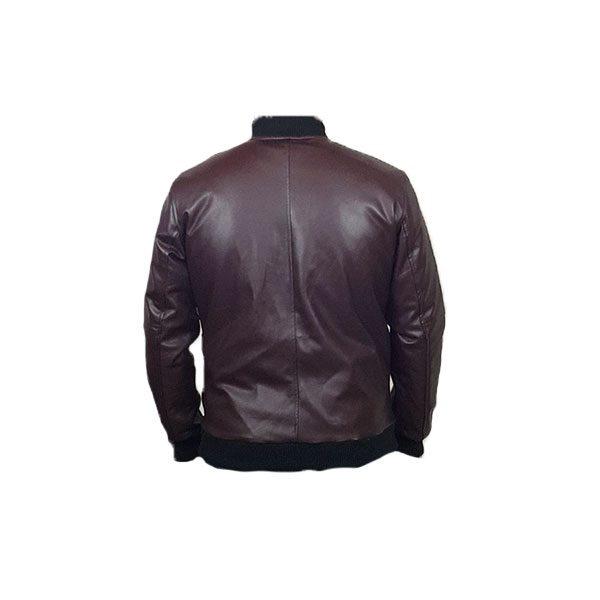 Men Slim Fit PU Leather Jacket BOOMBER CB B