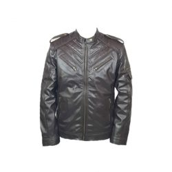 Mens Slim Fit Pu JACKET M2 CB A