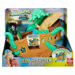 Thomas Friends Adventures Sea Monster Pirate Set A