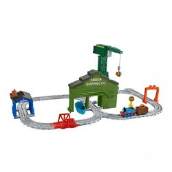 Thomas Friends DVT13 Adventures Cranky At The Docks Playset A