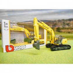 BURAGO 1 50 NEW HOLLAND EXCAVATOR ON RUBBER TRACKS A
