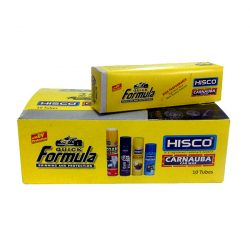 Hisco Quick Formula Carnauba Wax 10 tubes Yellow