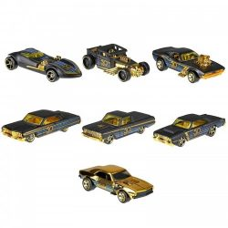 Hot Wheels 50th Anniversary Black Gold A