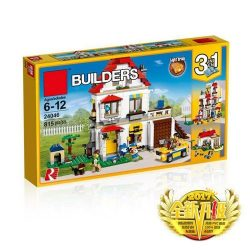 LEPIN 3 in 1 Model Modular Family Villa