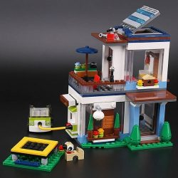 LEPIN 3 in 1 Model Modular Modern Home
