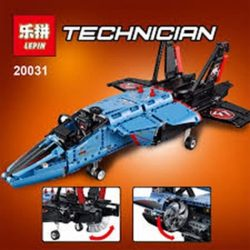 LEPIN Air Race Jet Building Bricks Set