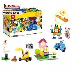 LEPIN BUILERDS Classic Large Creative Brick Box