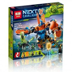 Lepin 567Pcs Movie Knights High Tech Assistant Showdown Model