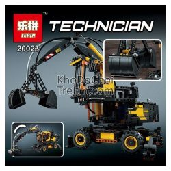 Lepin Technical Ultimate Series Excavator Set Educational Building Blocks 1166Pcs