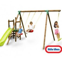 Little Tikes HamBurg Swing Slide Play System A