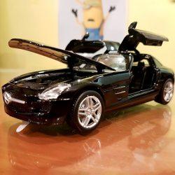 MZ Mercedes Benz SLS AMG 1 32 Diecast Model Car