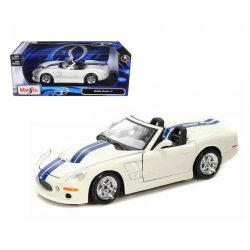 Maisto Shelby Series White Stripes Diecast Model Car A