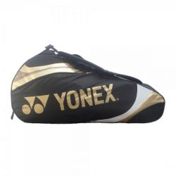 Yonex 3 Racket Bag Black Gold