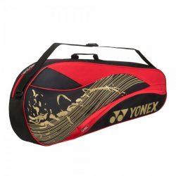 Yonex 3 Racket Bag Black Red