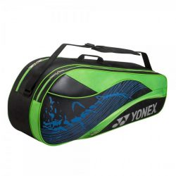 Yonex 6 Racket Bag Black Lime