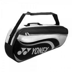 Yonex 8823EX 3 Racket Bag Black Gray