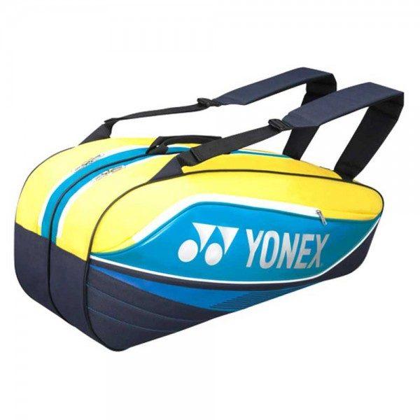 Yonex 9 Racket Bag Yellow Turquoise