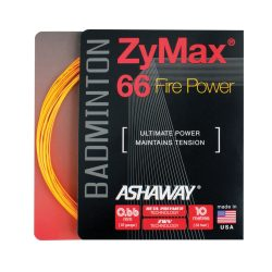 Ashaway ZyMax 66 Fire Power Badminton Racket String 10m a