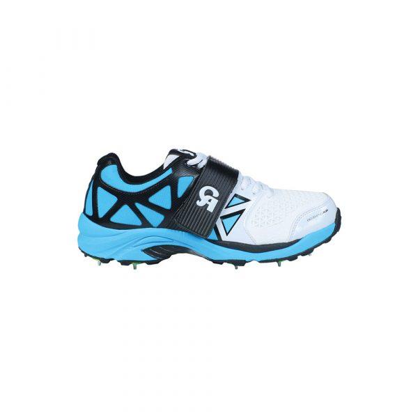 CA Big Bang KP Cricket Shoes with Spikes Blue b
