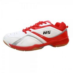 HS 27 Badminton Shoes Red AND White A