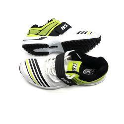 HS 41 Cricket Shoes Lime White A