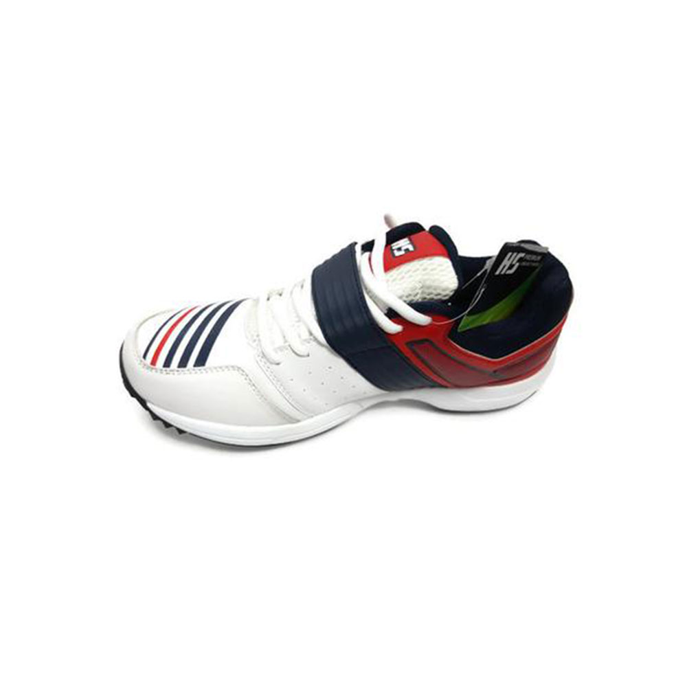 HS 41 Cricket Shoes - Red \u0026 White : Buy