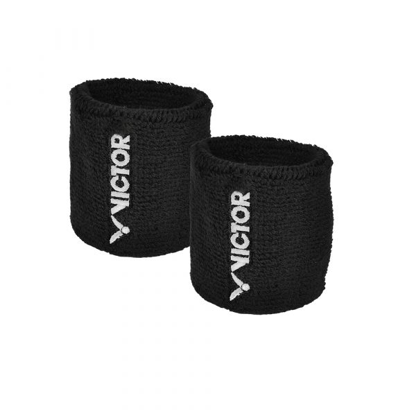 Victor Wristband 2 Pack Black