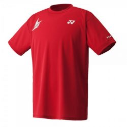Yonex 16004 Lin Dan Crew Neck Shirt Dark Red