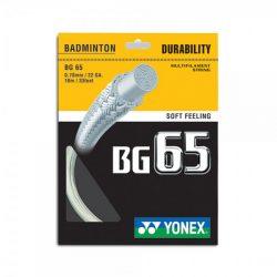Yonex BG 65 Badminton Racket String