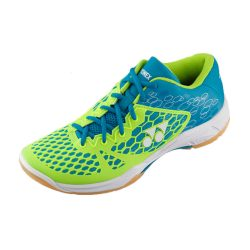 Yonex Power Cushion 03 Indoor Court Shoes Blue Lime A
