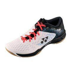 Yonex Power Cushion 03 Indoor Court Shoes White Black A