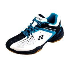 Yonex Power Cushion 35 Junior Indoor Courts Shoes White Blue A
