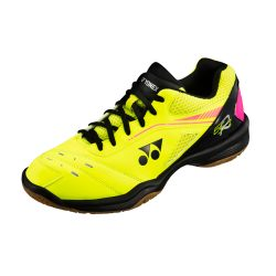 Yonex Power Cushion 65 R2 Indoor Courts Shoes Yellow Black A