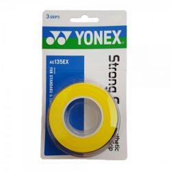 Yonex Strong Grap Overgrip Yellow 3 Wraps