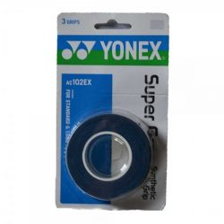 Yonex Super Grap Overgrip Deep Blue 3 Wraps