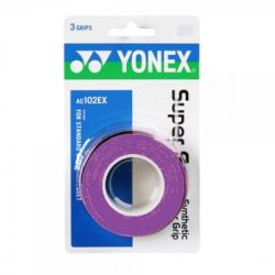 Yonex Super Grap Overgrip Purple 3 Wraps
