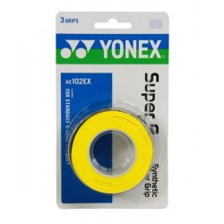 Yonex Super Grap Overgrip Yellow 3 Wraps