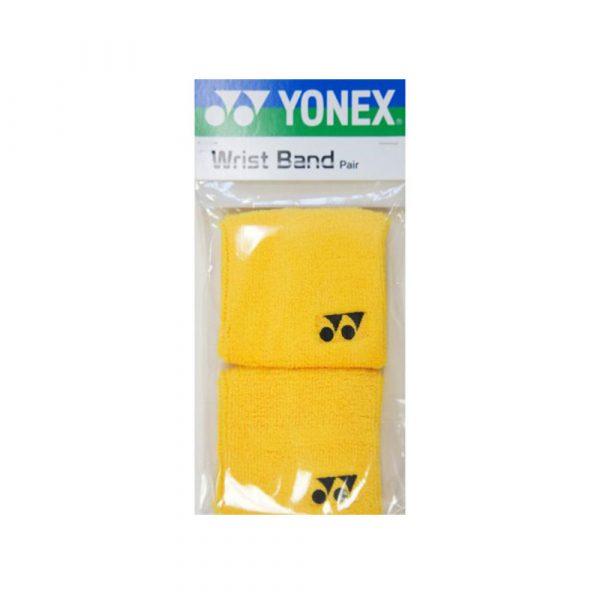 Yonex Wrist Band 2 Pack Yellow b