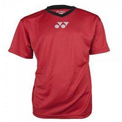 Yonex YT1000 V Neck Shirt Red