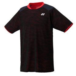 Yonex10189EX Mens Crew Neck Shirt Sunset Red a