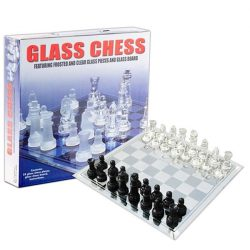Glass Chess Game White