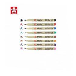 Sakura Pigma Brush Set Multi Colours Archival Ink Art Pens Pack Of Colour x