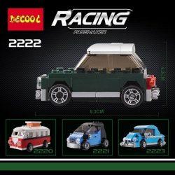 pcs t mini cooper smart volkswagen beetle building blocks toys compatible with lego decool