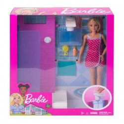 barbie shower blonde doll