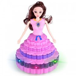 popular baby girls toy plastic dancing princess