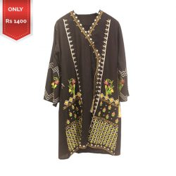 Beauitiful Embroidered Lawn shirt a