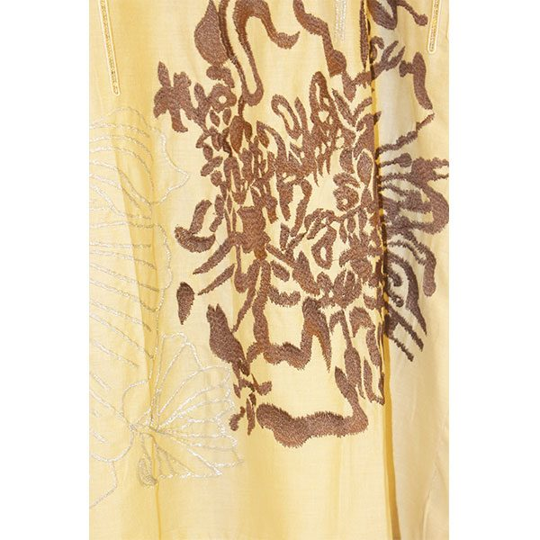 Designer Stitched Embroidered Lawn Kurti for girls b