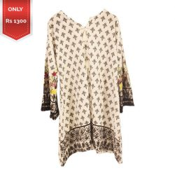 Latest Women Printed Lawn Kurti a